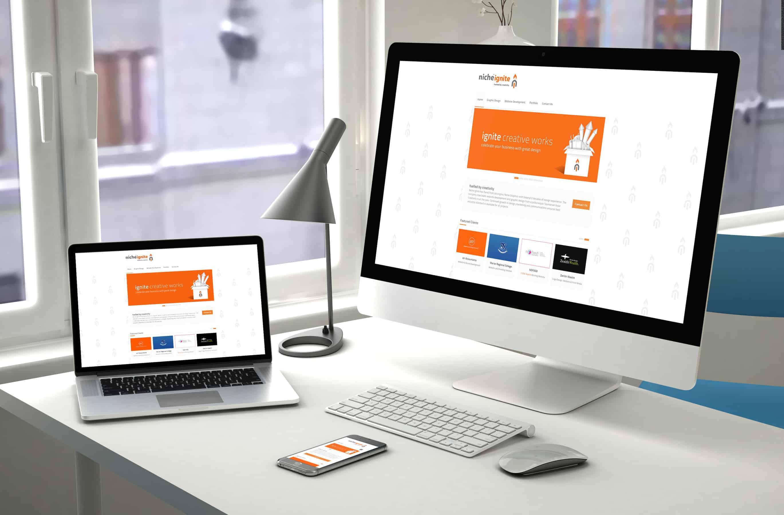 Website Design & Development - Niche Ignite