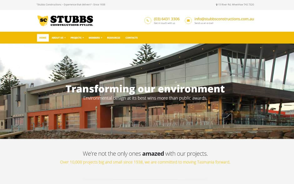 Stubbs Constructions